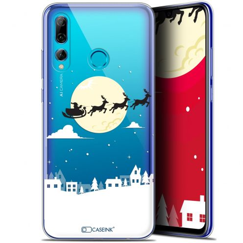"Extra Slim Gel Huawei P Smart+ / Plus 2019 (6.2"") Case Noël 2017 Flying Stanta"