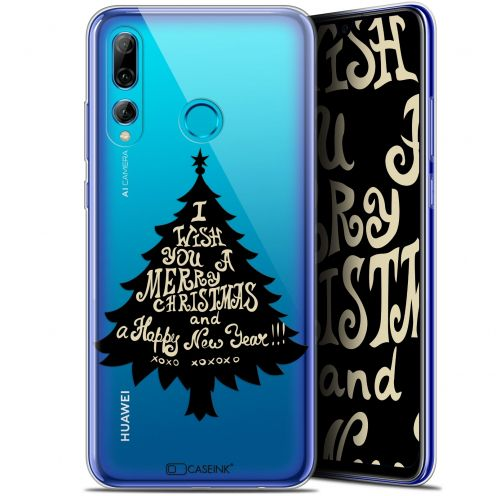 "Extra Slim Gel Huawei P Smart+ / Plus 2019 (6.2"") Case Noël 2017 XOXO Tree"