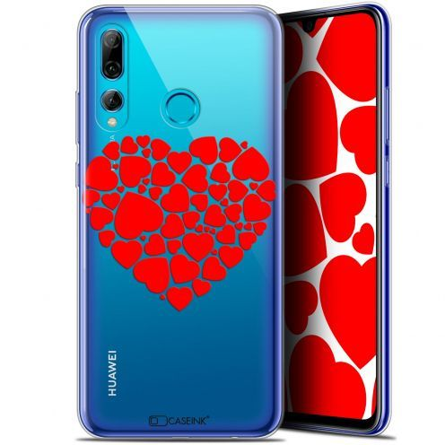 "Extra Slim Gel Huawei P Smart+ / Plus 2019 (6.2"") Case Love Coeur des Coeurs"