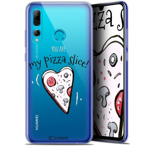 "Extra Slim Gel Huawei P Smart+ / Plus 2019 (6.2"") Case Love My Pizza Slice"