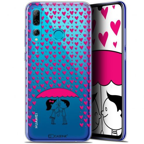 "Extra Slim Gel Huawei P Smart+ / Plus 2019 (6.2"") Case Love Pluie d'Amour"