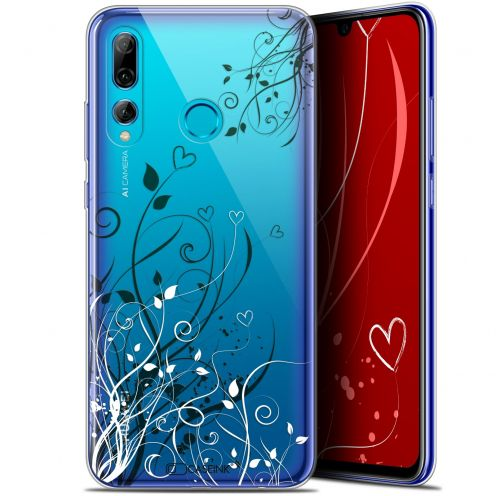 "Extra Slim Gel Huawei P Smart+ / Plus 2019 (6.2"") Case Love Hearts Flowers"