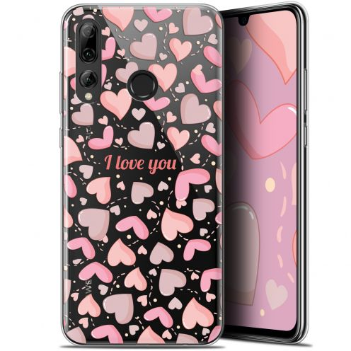 "Extra Slim Gel Huawei P Smart+ / Plus 2019 (6.2"") Case Love I Love You"