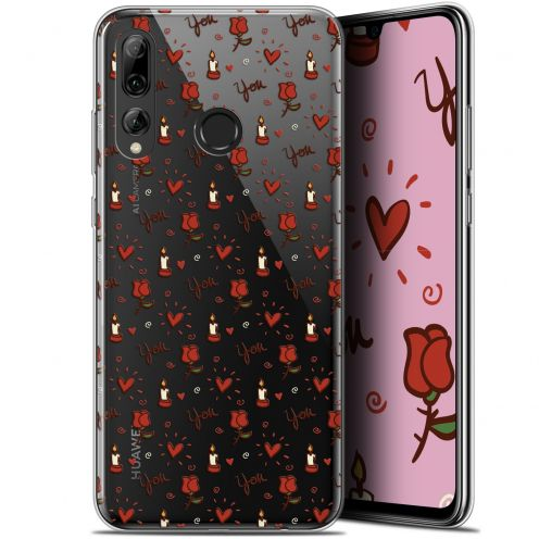 "Extra Slim Gel Huawei P Smart+ / Plus 2019 (6.2"") Case Love Bougies et Roses"