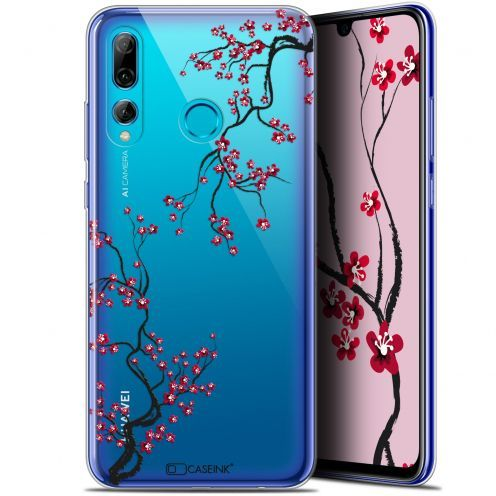 "Extra Slim Gel Huawei P Smart+ / Plus 2019 (6.2"") Case Summer Sakura"