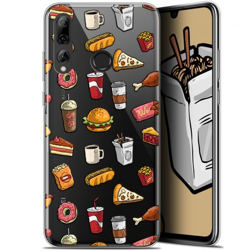 "Extra Slim Gel Huawei P Smart+ / Plus 2019 (6.2"") Case Foodie Fast Food"
