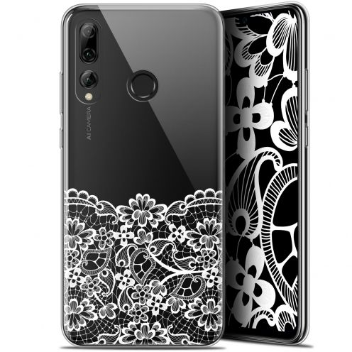 "Extra Slim Gel Huawei P Smart+ / Plus 2019 (6.2"") Case Spring Bas dentelle"