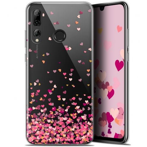 "Extra Slim Gel Huawei P Smart+ / Plus 2019 (6.2"") Case Sweetie Heart Flakes"