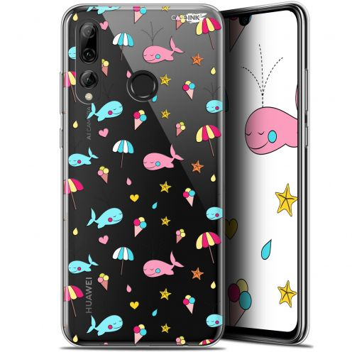 "Extra Slim Gel Huawei P Smart+ / Plus 2019 (6.2"") Case Design Baleine à la Plage"