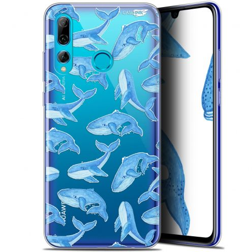 "Extra Slim Gel Huawei P Smart+ / Plus 2019 (6.2"") Case Design Baleines"