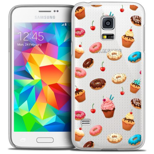 Extra Slim Crystal Galaxy S5 Mini Case Foodie Donuts