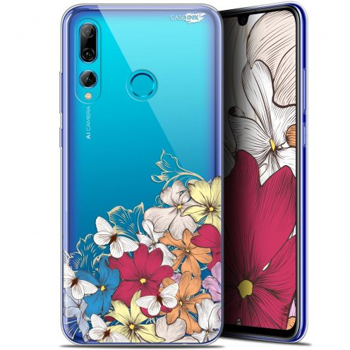 "Extra Slim Gel Huawei P Smart+ / Plus 2019 (6.2"") Case Design Nuage Floral"