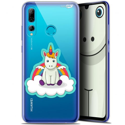 "Extra Slim Gel Huawei P Smart+ / Plus 2019 (6.2"") Case Design Bébé Licorne"