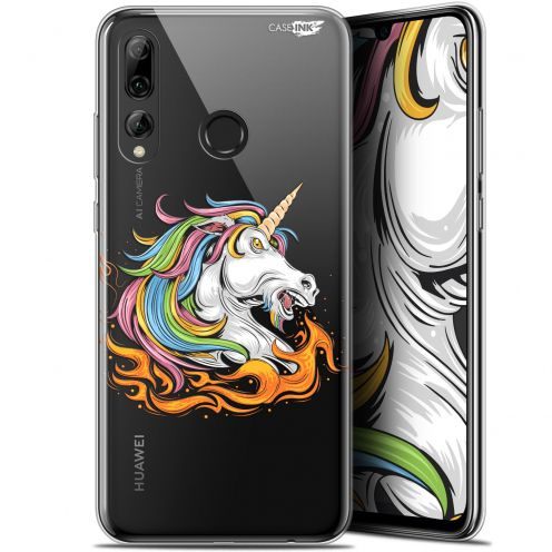 "Extra Slim Gel Huawei P Smart+ / Plus 2019 (6.2"") Case Design Licorne de Feu"