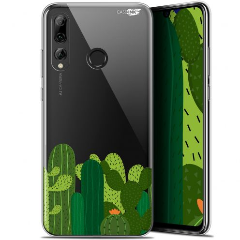 "Extra Slim Gel Huawei P Smart+ / Plus 2019 (6.2"") Case Design Cactus"