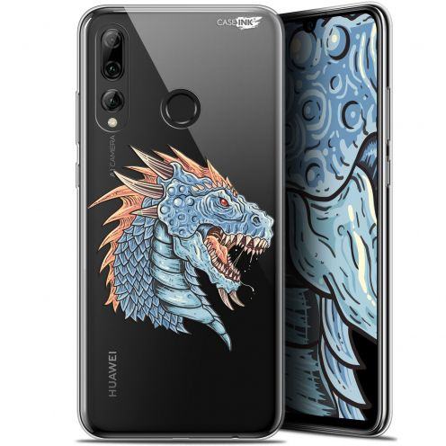 "Extra Slim Gel Huawei P Smart+ / Plus 2019 (6.2"") Case Design Dragon Draw"
