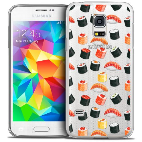 Extra Slim Crystal Galaxy S5 Mini Case Foodie Sushi