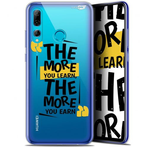 "Extra Slim Gel Huawei P Smart+ / Plus 2019 (6.2"") Case Design The More You Learn"