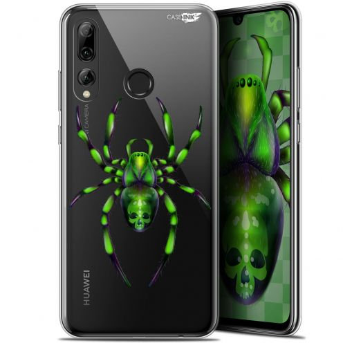 "Extra Slim Gel Huawei P Smart+ / Plus 2019 (6.2"") Case Design Arraignée Verte"