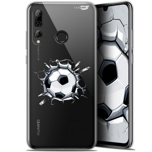 "Extra Slim Gel Huawei P Smart+ / Plus 2019 (6.2"") Case Design Le Balon de Foot"