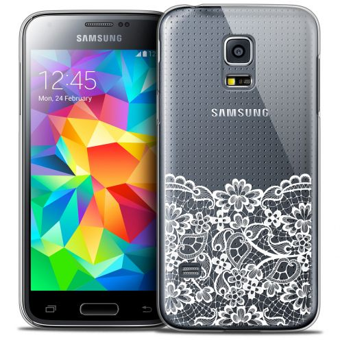 Extra Slim Crystal Galaxy S5 Case Spring Bas dentelle