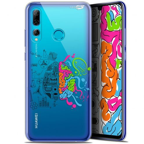 "Extra Slim Gel Huawei P Smart+ / Plus 2019 (6.2"") Case Design Le Cerveau"
