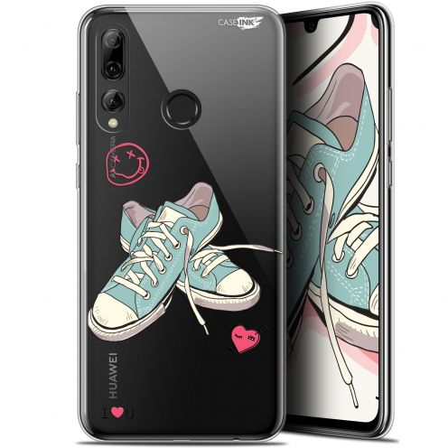 "Extra Slim Gel Huawei P Smart+ / Plus 2019 (6.2"") Case Design Mes Sneakers d'Amour"