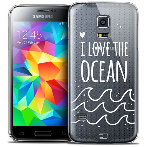 Extra Slim Crystal Galaxy S5 Mini Case Summer I Love Ocean