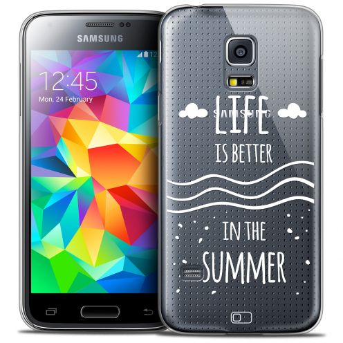 Extra Slim Crystal Galaxy S5 Mini Case Summer Life's Better