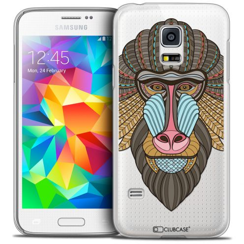 Extra Slim Crystal Galaxy S5 Mini Case Summer Babouin