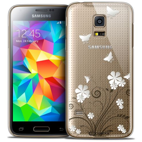 Extra Slim Crystal Galaxy S5 Mini Case Summer Papillons