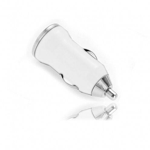 Mini car charger / 1A USB white