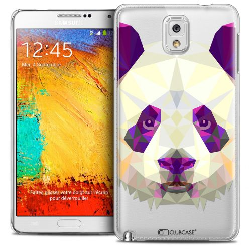 Extra Slim Crystal Galaxy Note 3 Case Polygon Animals Panda