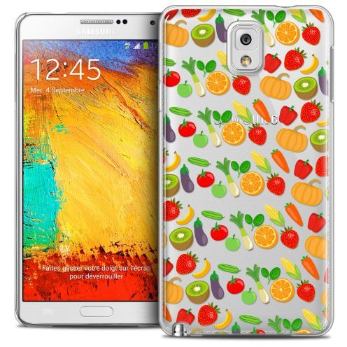 Extra Slim Crystal Galaxy Note 3 Case Foodie Healthy