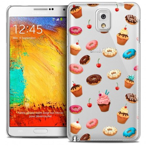 Extra Slim Crystal Galaxy Note 3 Case Foodie Donuts