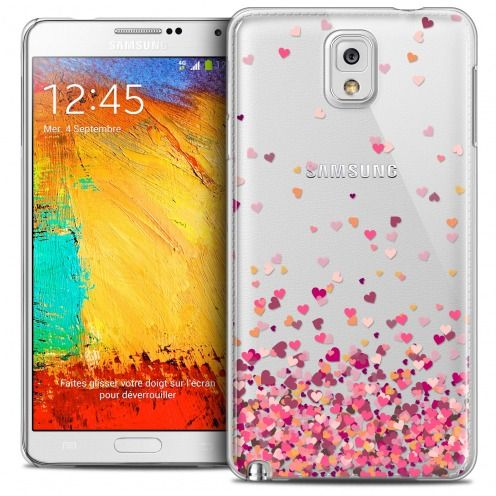 Extra Slim Crystal Galaxy Note 3 Case Sweetie Heart Flakes