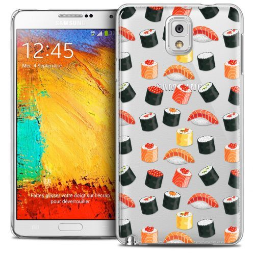 Extra Slim Crystal Galaxy Note 3 Case Foodie Sushi
