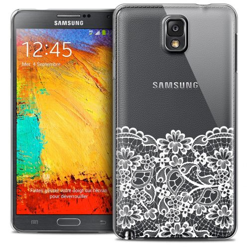 Extra Slim Crystal Galaxy Note 3 Case Spring Bas dentelle