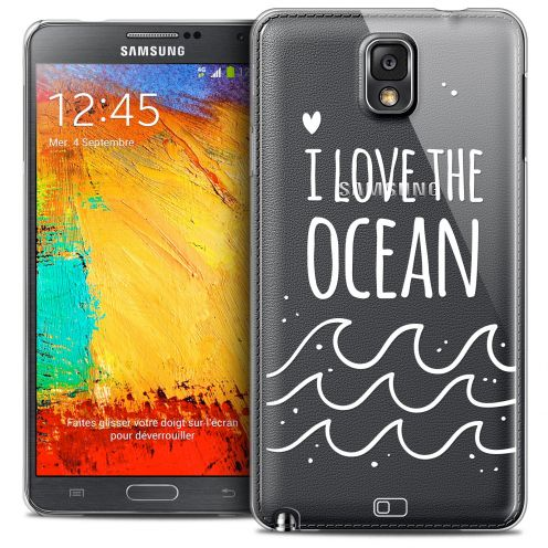 Extra Slim Crystal Galaxy Note 3 Case Summer I Love Ocean