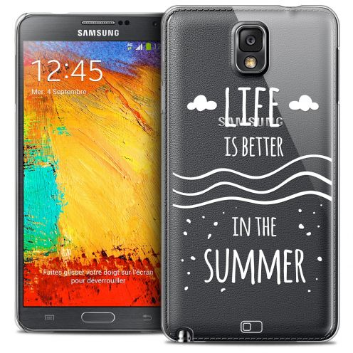 Extra Slim Crystal Galaxy Note 3 Case Summer Life's Better