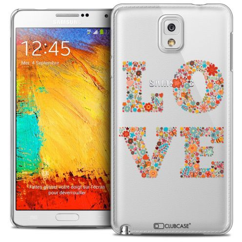 Extra Slim Crystal Galaxy Note 3 Case Summer Love Flowers