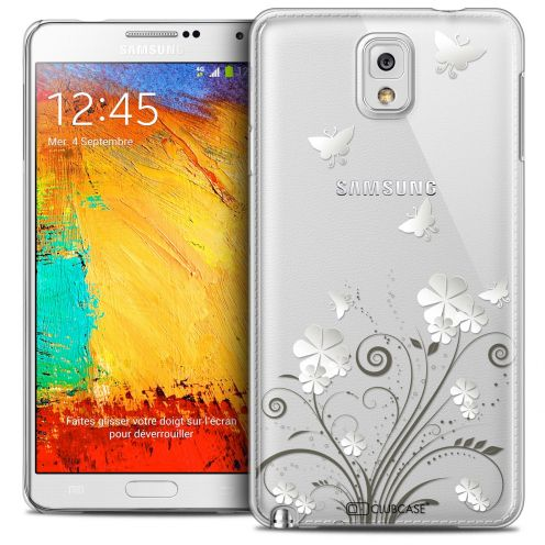 Extra Slim Crystal Galaxy Note 3 Case Summer Papillons
