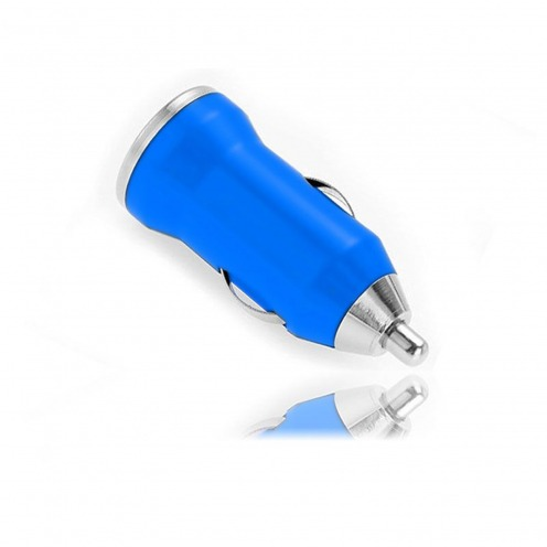Mini car charger / 1A USB dark blue
