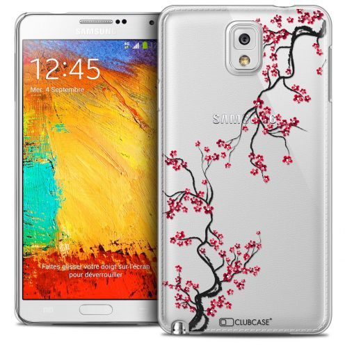 Extra Slim Crystal Galaxy Note 3 Case Summer Sakura
