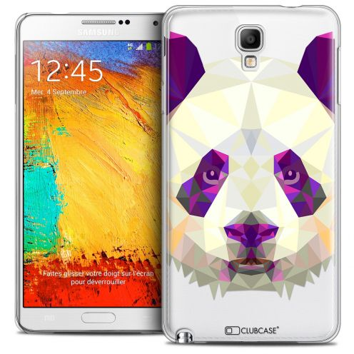 Extra Slim Crystal Galaxy Note 3 Neo/Mini Case Polygon Animals Panda