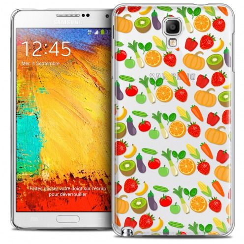 Extra Slim Crystal Galaxy Note 3 Neo/Mini Case Foodie Healthy