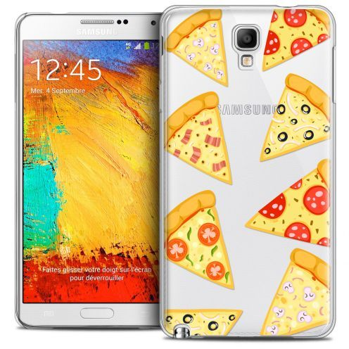 Extra Slim Crystal Galaxy Note 3 Neo/Mini Case Foodie Pizza
