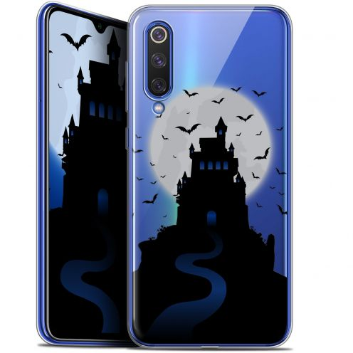 "Extra Slim Gel Xiaomi Mi 9 SE (5.97"") Case Halloween Castle Nightmare"
