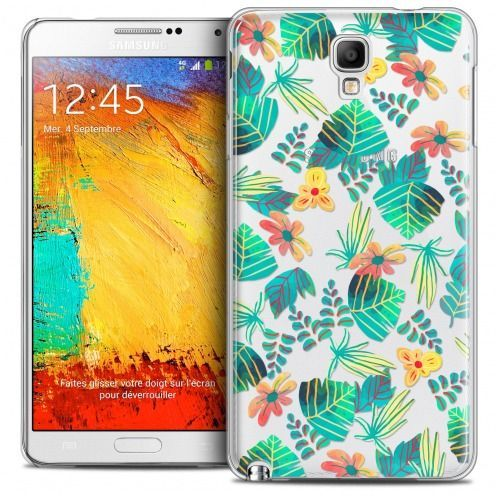 Extra Slim Crystal Galaxy Note 3 Neo/Mini Case Spring Tropical