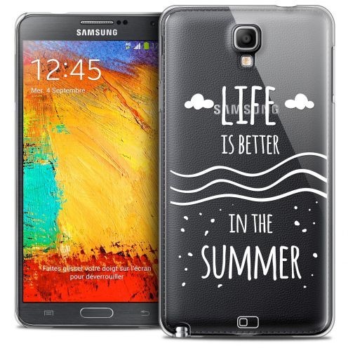 Extra Slim Crystal Galaxy Note 3 Neo/Mini Case Summer Life's Better